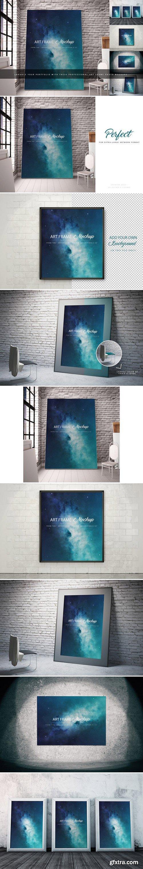 CM - 5 Art Frame Mockups 1052730