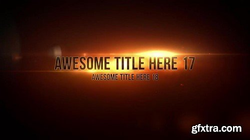 Motion Array - Epic Titles After Effects Template