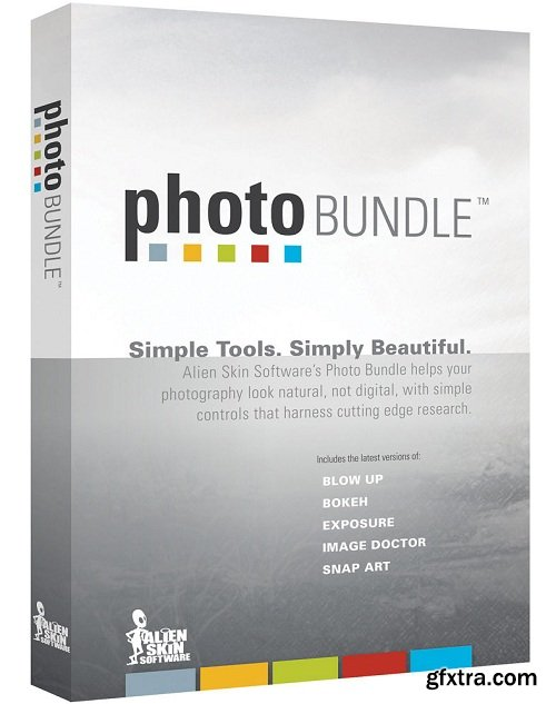 Alien Skin Software Photo Bundle Collection for Photoshop & Lightroom (11.2016)
