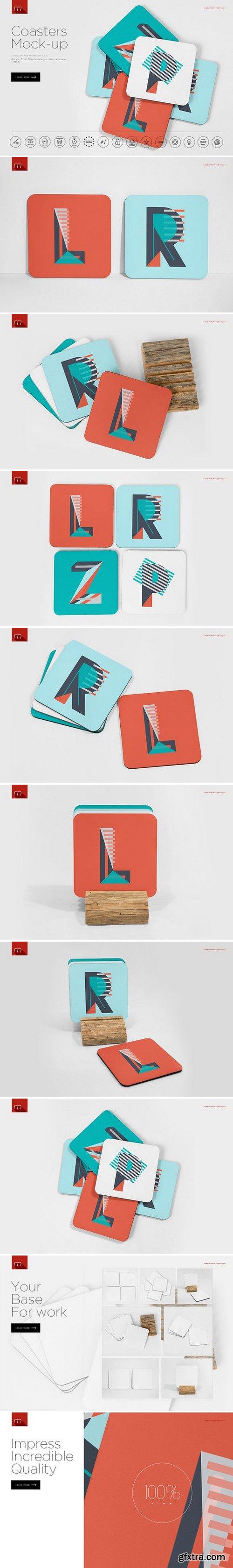 CM - Coasters Mock-up 1082244