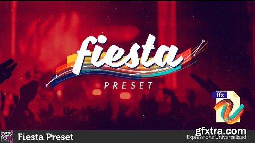 Videohive Fiesta Preset 18384232