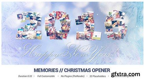 Videohive Memories // Christmas Opener 13750823