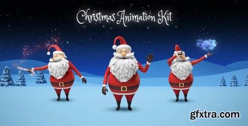 Videohive Santa - Christmas Animation DIY Kit 13677367