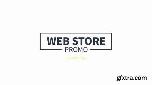 Web Store Promo After Effects Templates