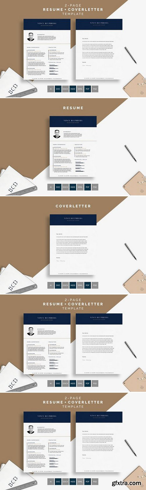 CM - Resume/CV - Vince 885239