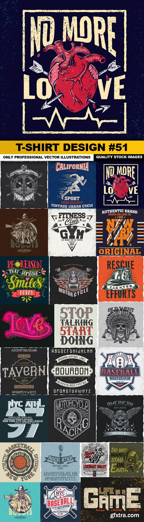 T-Shirt Design #51 - 25xEPS