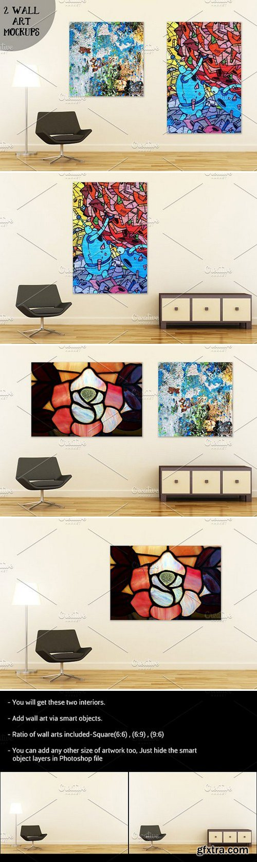 CM - Wall art mockup V4 782710