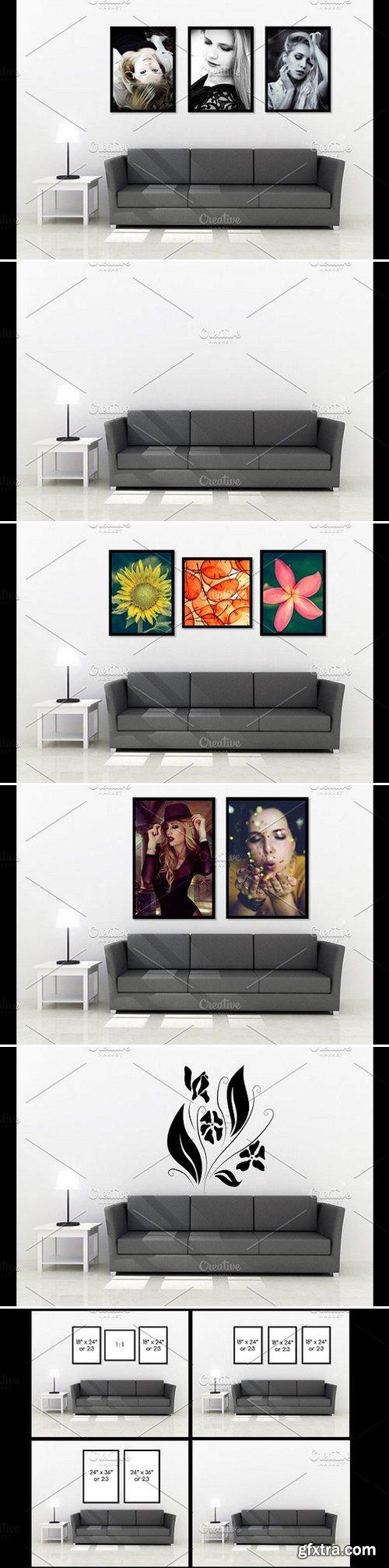 CM - Wall art Mockup v5 955516