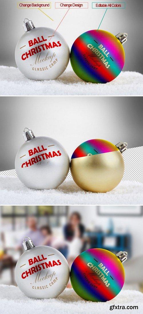 CM - Christmas Ball Mock-Up 453091