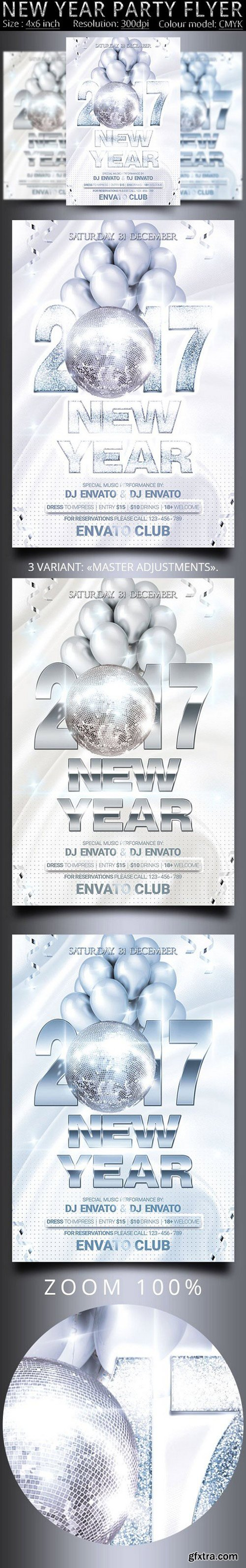 CM - New Year Party Flyer 1036577