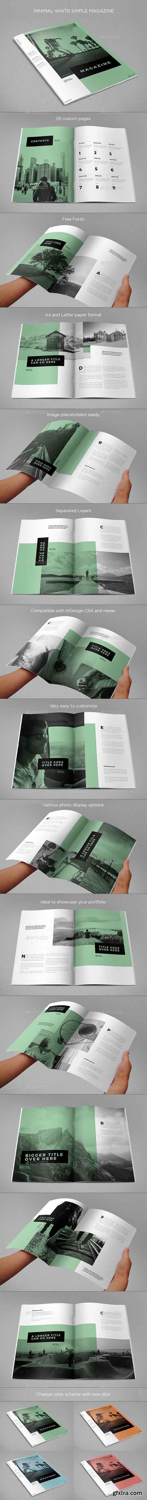 GR - Minimal White Simple Magazine 17462622