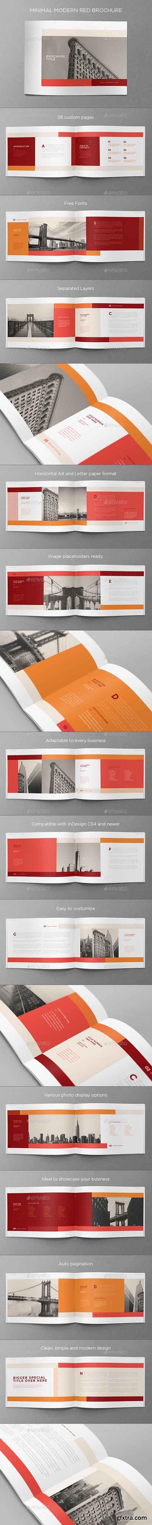 GR - Minimal Modern Red Brochure 15107153