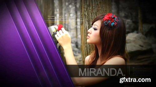 POND5 Fashion Model Slide 062897393