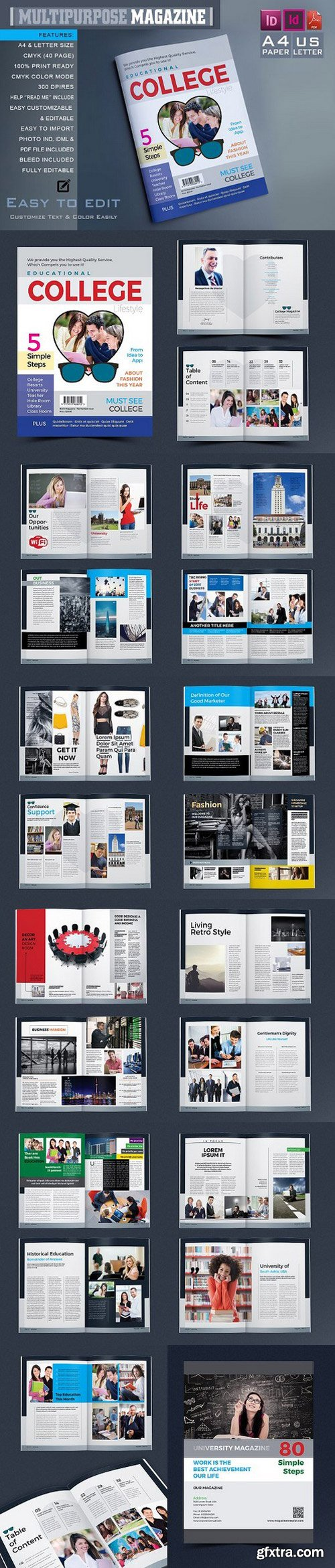 CM - College University Magazine 994891