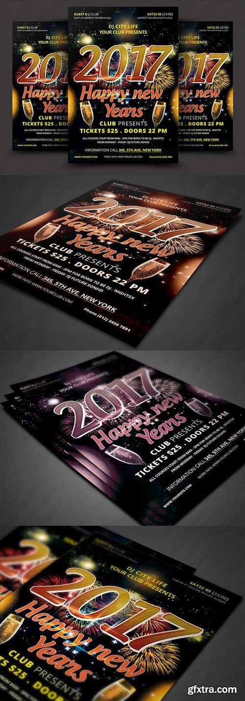 CM - New Year Celebration Event Template 922589