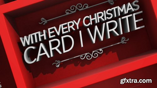 Videohive Christmas Typo Story 19036063