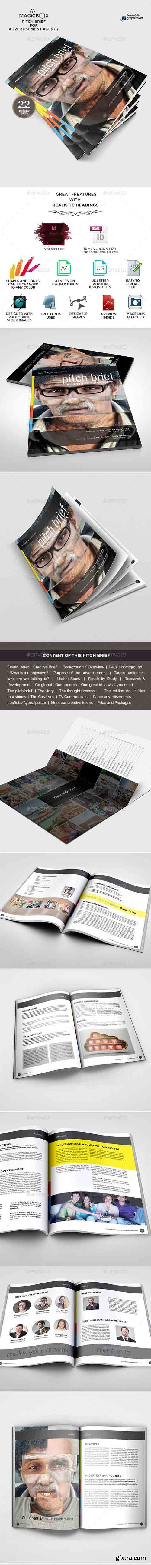 GR - Pitch Brief Template for Advertisement Campaign 9807527