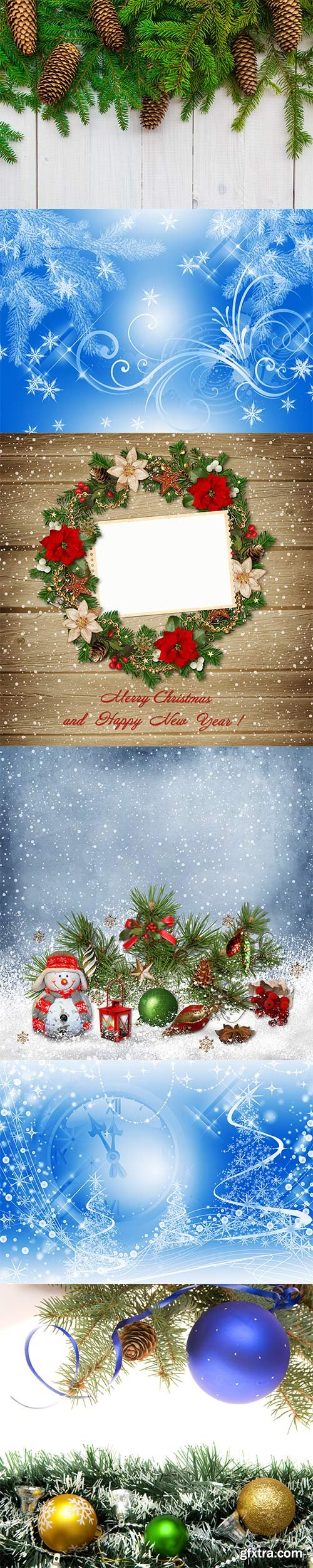 Christmas winter backgrounds - 2