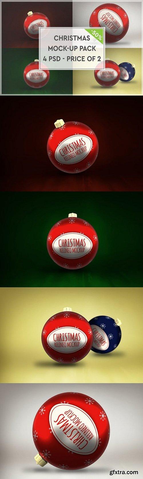 CM - Christmas Mock-up Pack#3 1088330