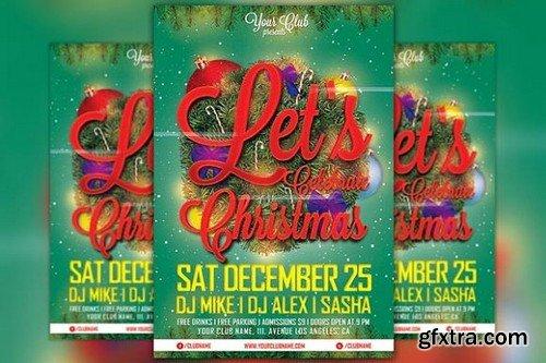 CM - Celebrate Christmas Flyer Template 1098265