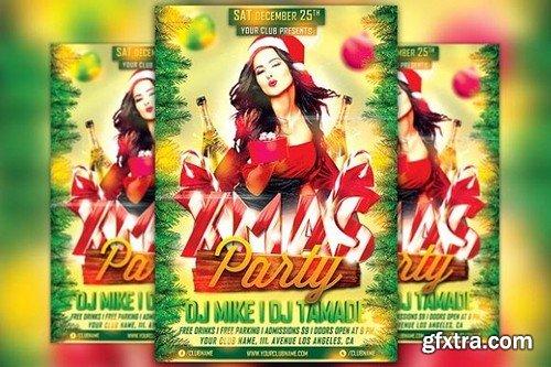 CM - Xmas Party Flyer Template 1098309