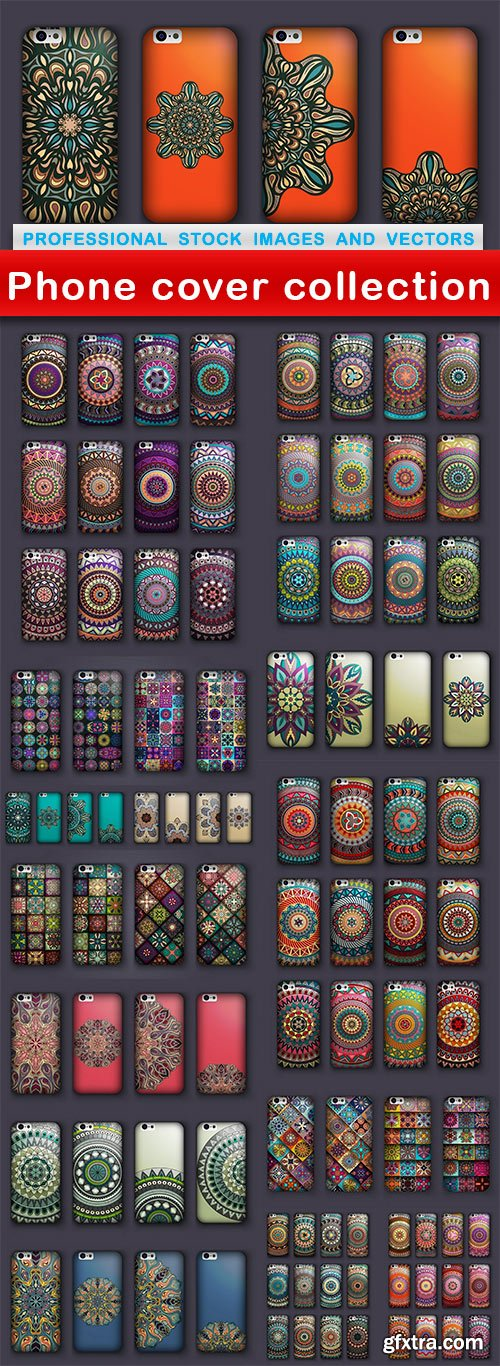 Phone cover collection - 15 EPS