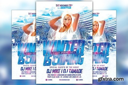 CM - Winter is Coming Party Flyer 1065603