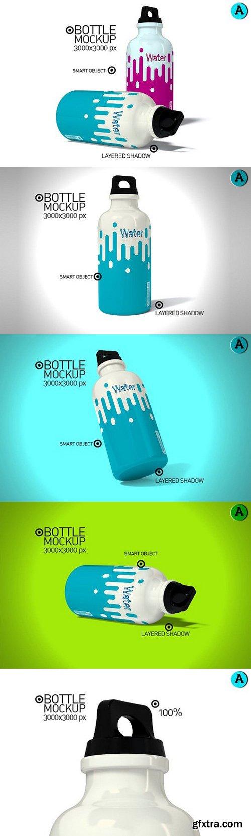 CM - Water Bottle Mock-up 1080441
