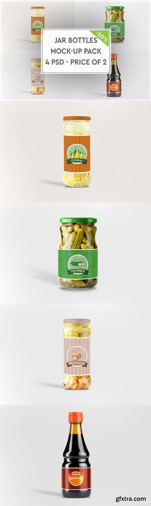 CM - Jar Bottles Mock-up Pack 1088320