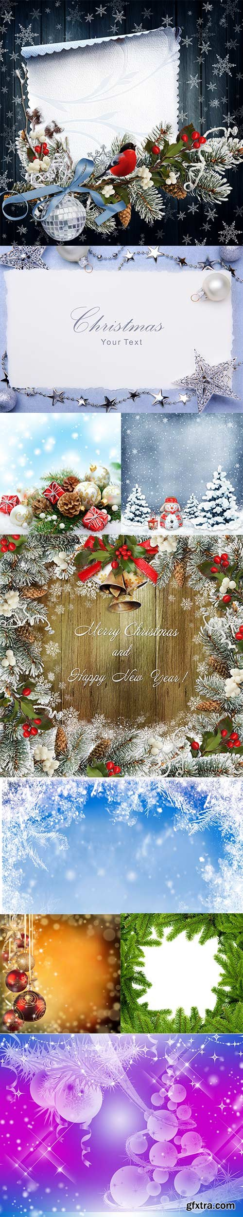 Christmas winter backgrounds 3