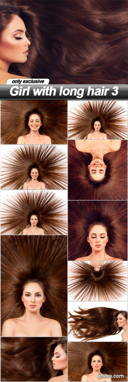 Girl with long hair 3 - 12 UHQ JPEG