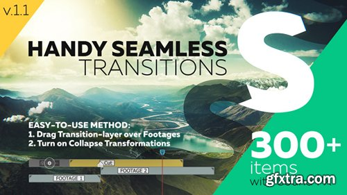 Videohive Handy Seamless Transitions | Pack & Script 18967340
