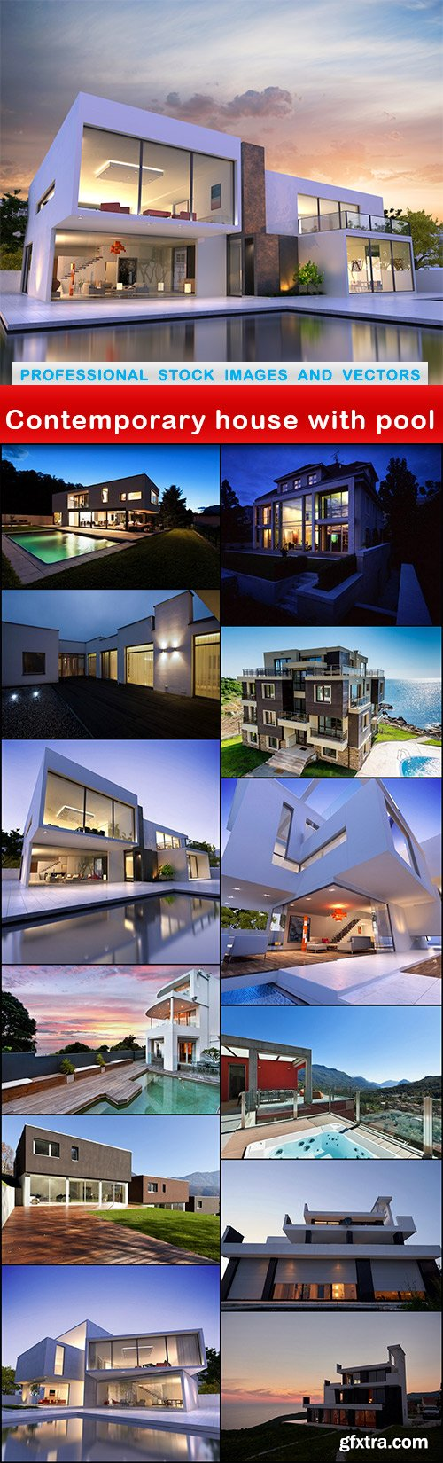 Contemporary house with pool - 13 UHQ JPEG