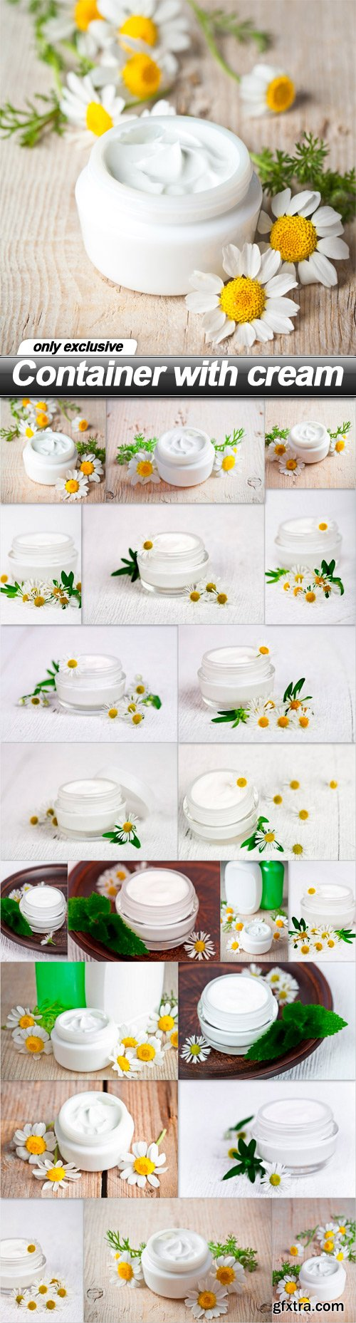 Container with cream - 21 UHQ JPEG