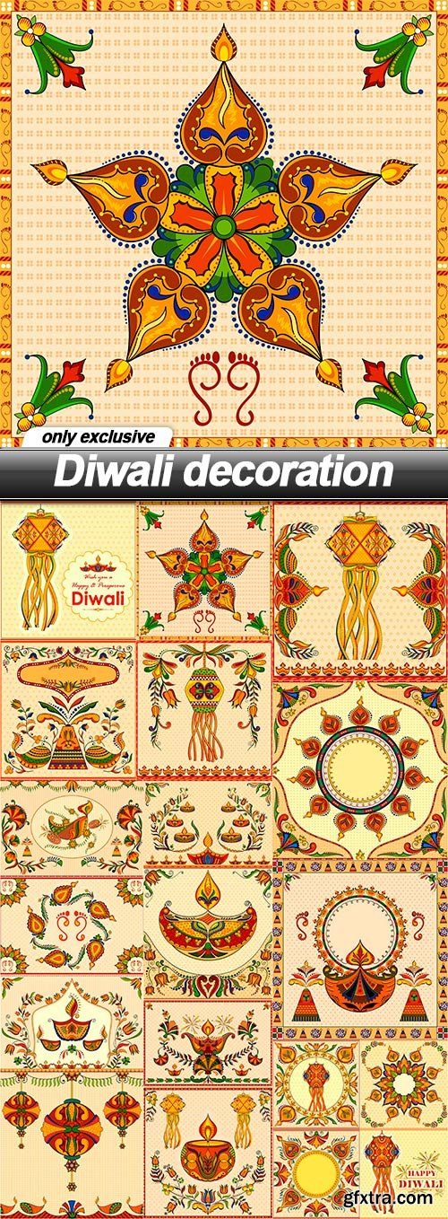 Diwali decoration - 19 EPS