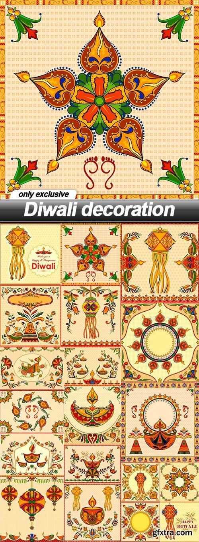 Diwali decoration - 19 EPS