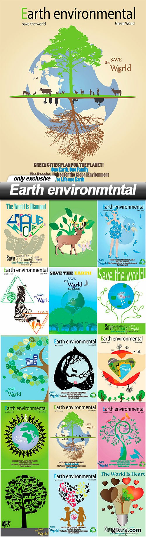 Earth environmtntal - 15 EPS