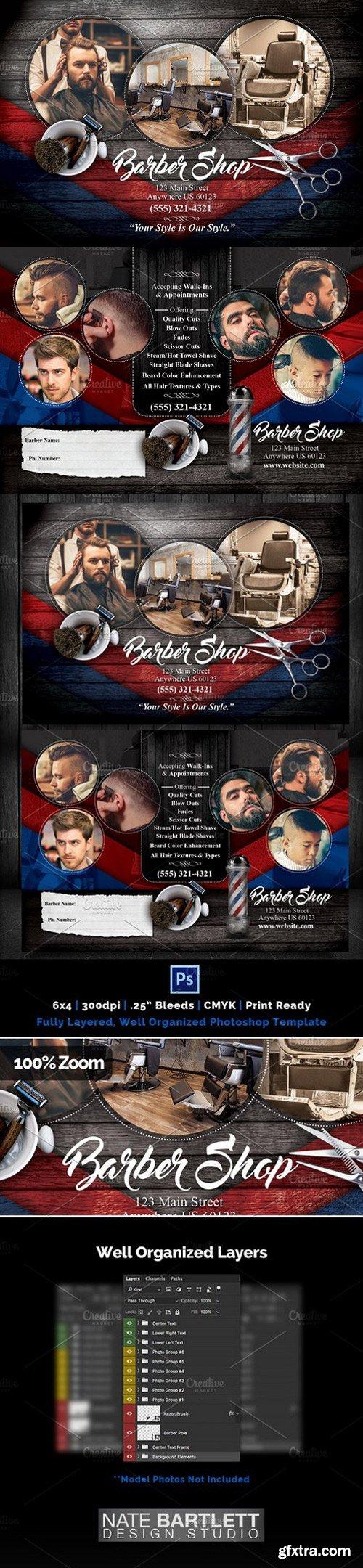 CM - Barber Shop Flyer 1032334