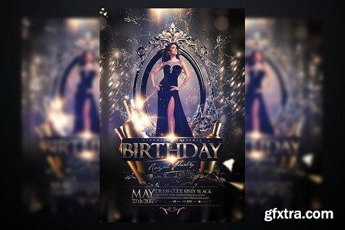 CM - Birthday Party Flyer 1033070