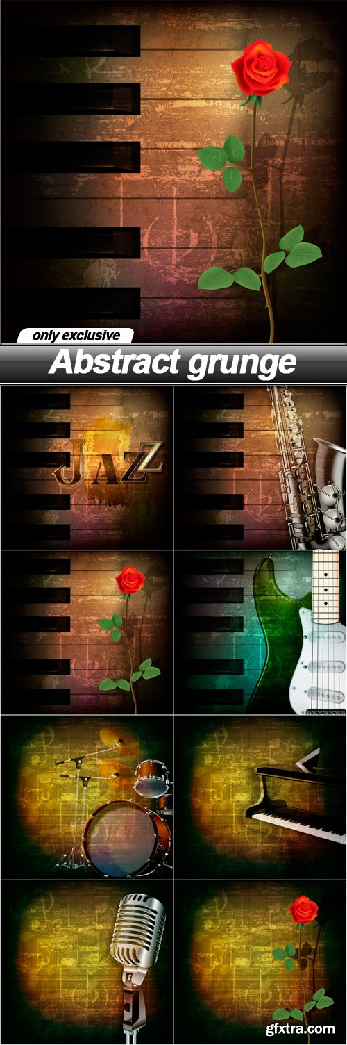 Abstract grunge - 8 EPS