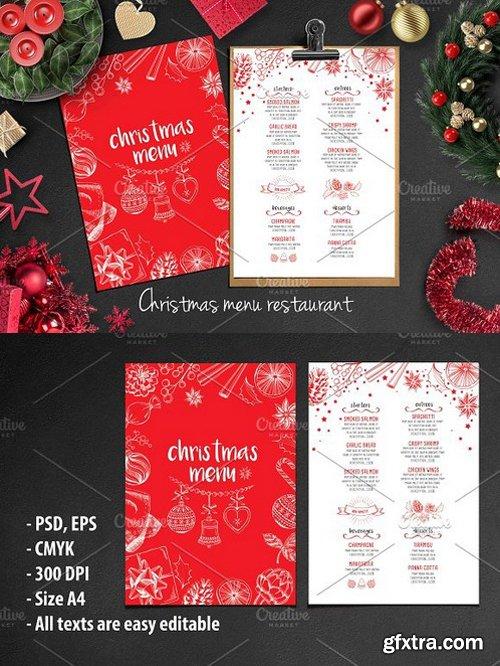 CM - Food menu, restaurant flyer #14 400855