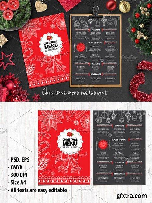 CM - Food menu, restaurant flyer 16 401823