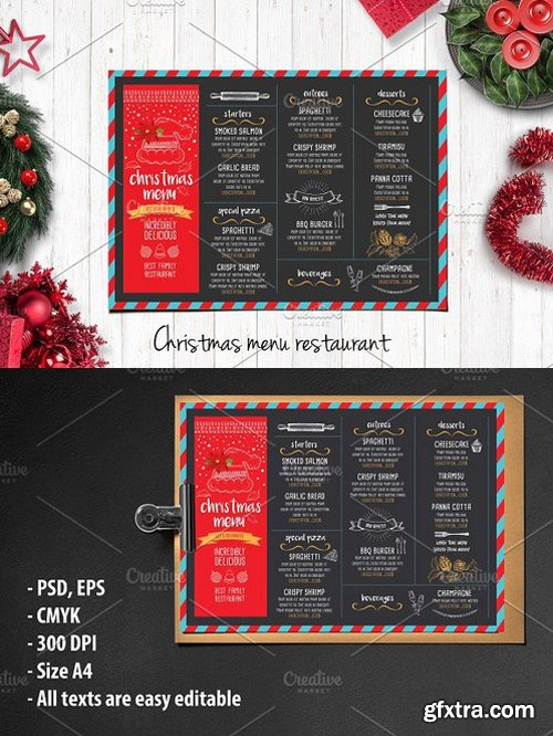 CM - Food menu, restaurant flyer 17 404169