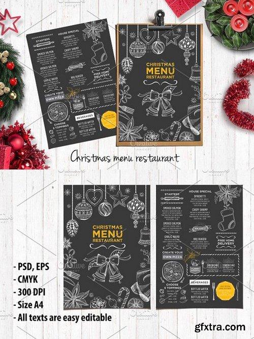 CM - Food menu, restaurant flyer 18 404509