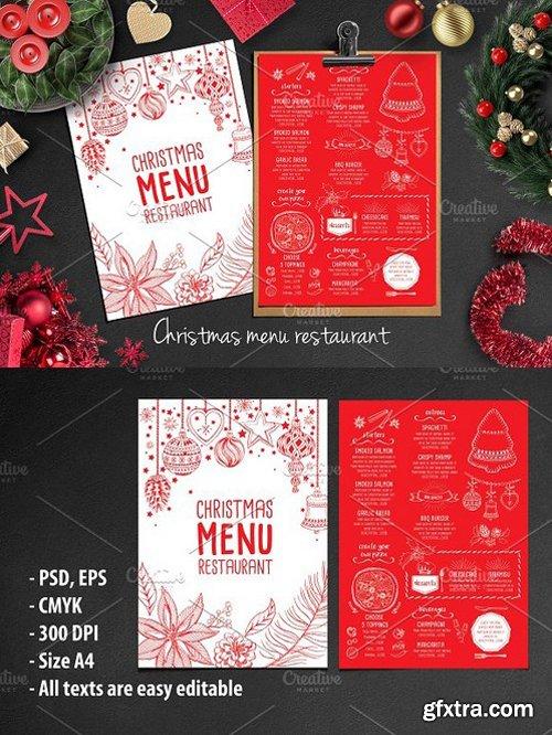 CM - Food menu, restaurant flyer 20 406304