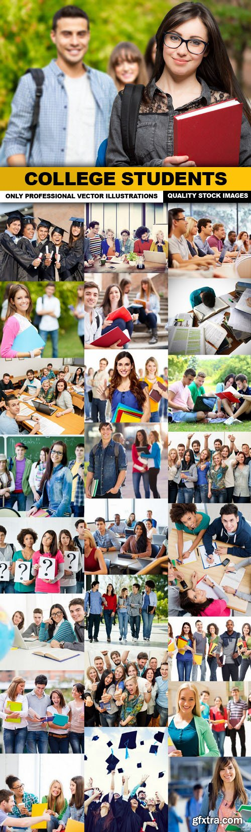 College Students - 25 HQ Images
