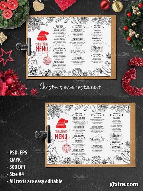 CM - Food menu, restaurant flyer 21 406888