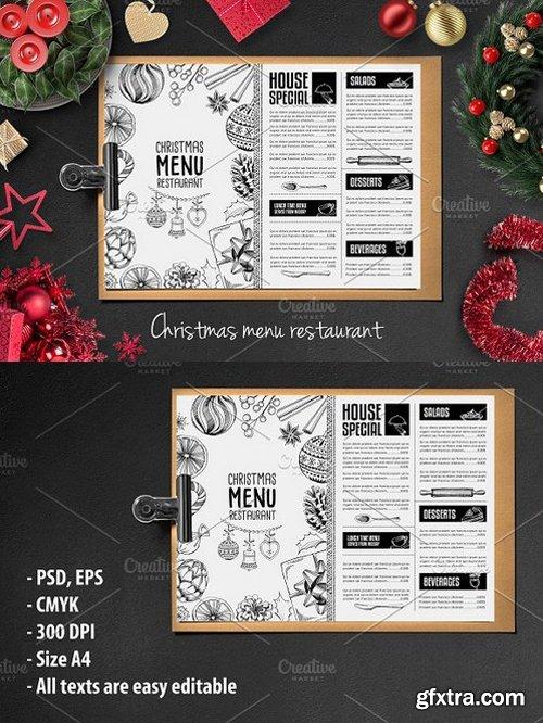 CM - Food menu, restaurant flyer 25 419446
