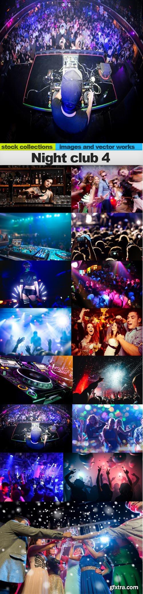 Night club 4, 15 x UHQ JPEG