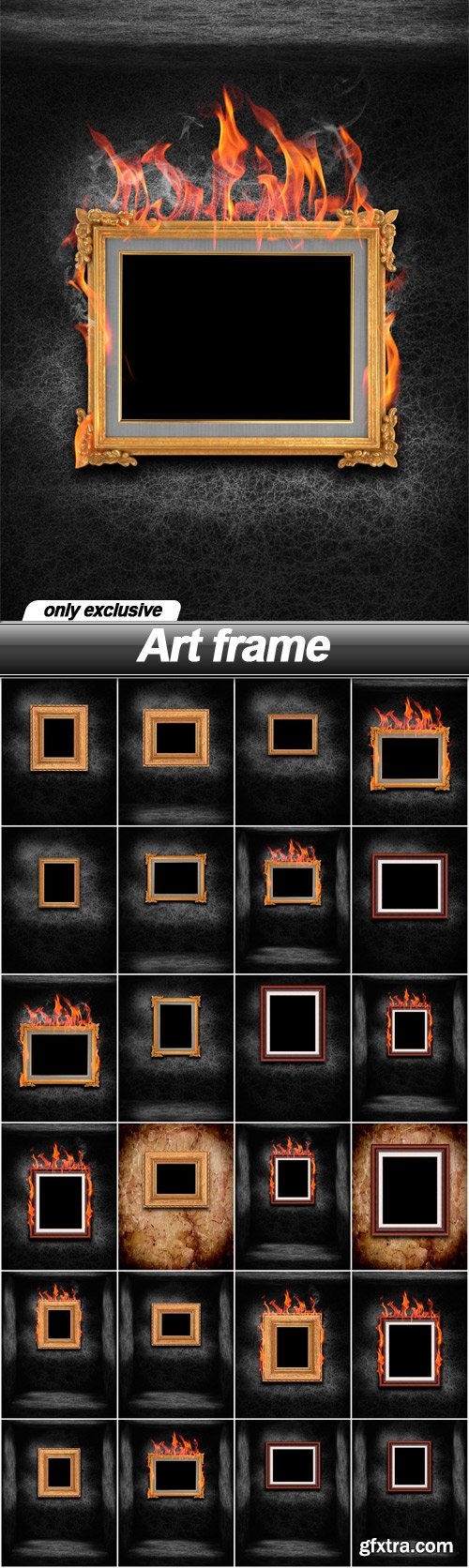 Art frame - 24 UHQ JPEG